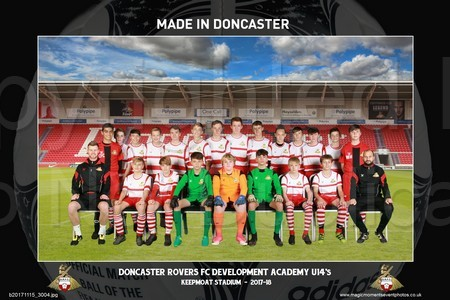 Doncaster Rovers FC Development academy 06 & 07 November 2017