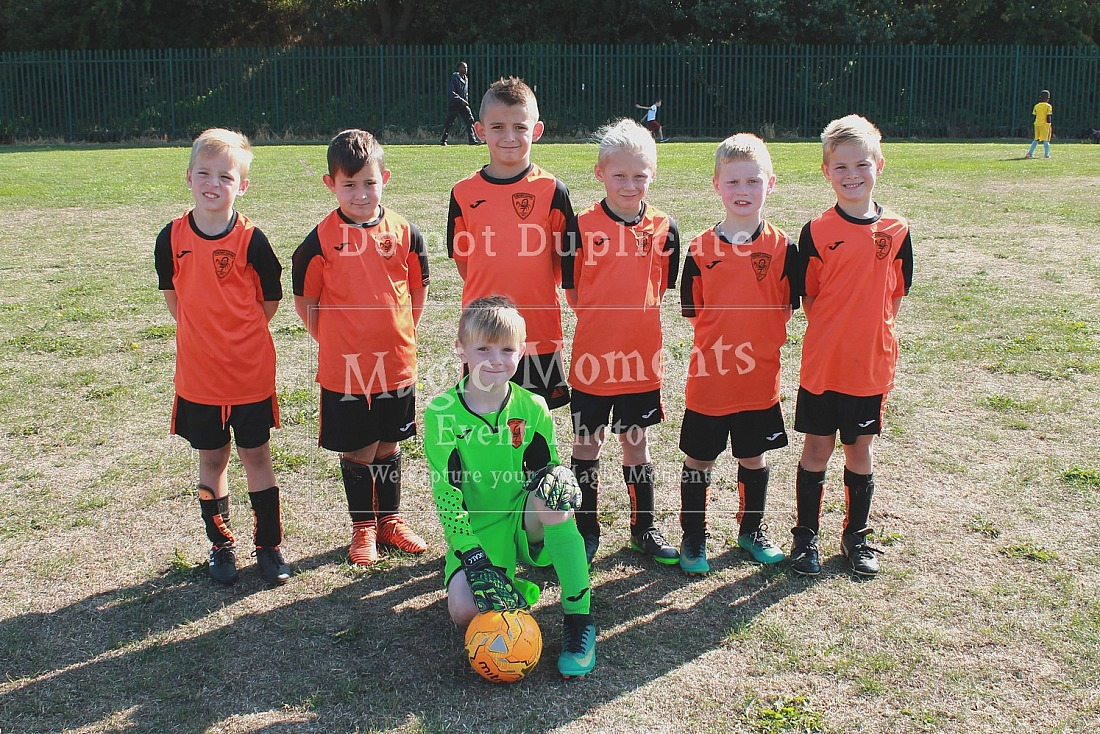 Scawthorpe Scorpions JFC Tournament 2018